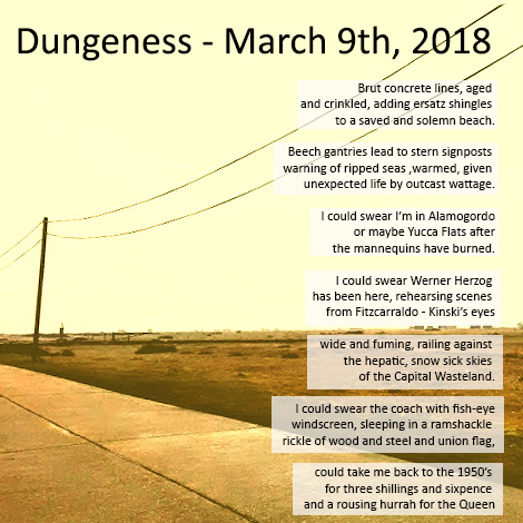 dungeness March 9th 2018